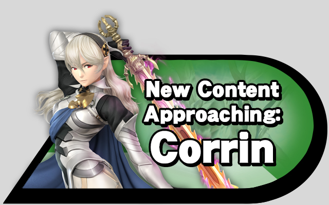 New Content Approaching: Corrin