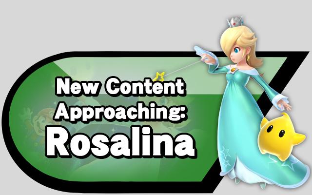 New Content Approaching: Rosalina