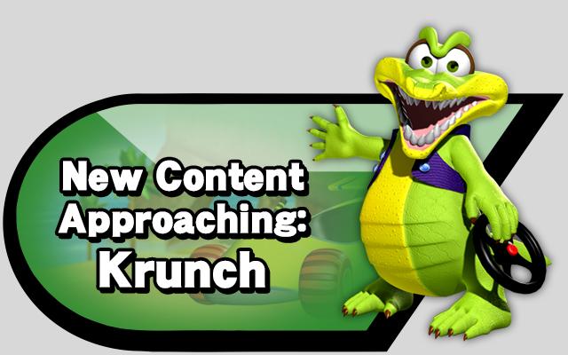 New Content Approaching: Krunch